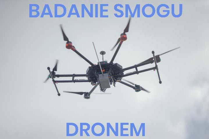 Badanie smogu dronem