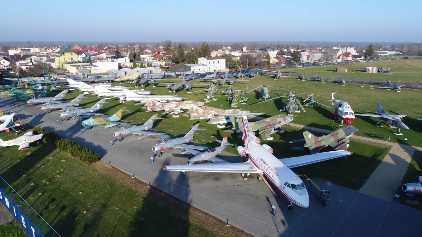 Muzeum w Dęblinie z drona