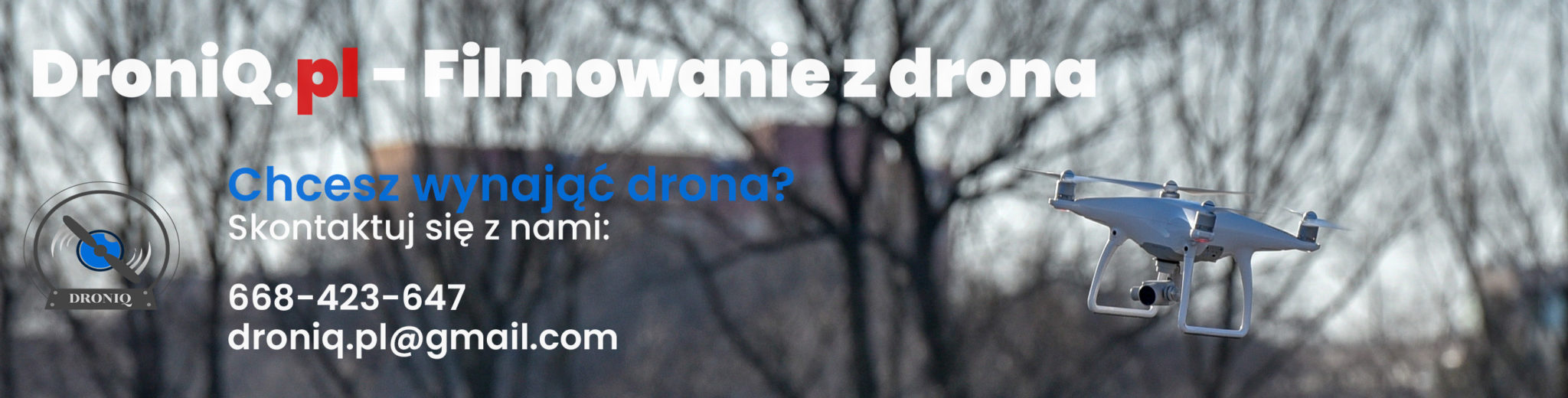 Wynajem drona w Warszawie kontakt