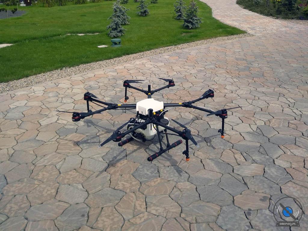 Opryskiwanie dronem - dezynfekcja
